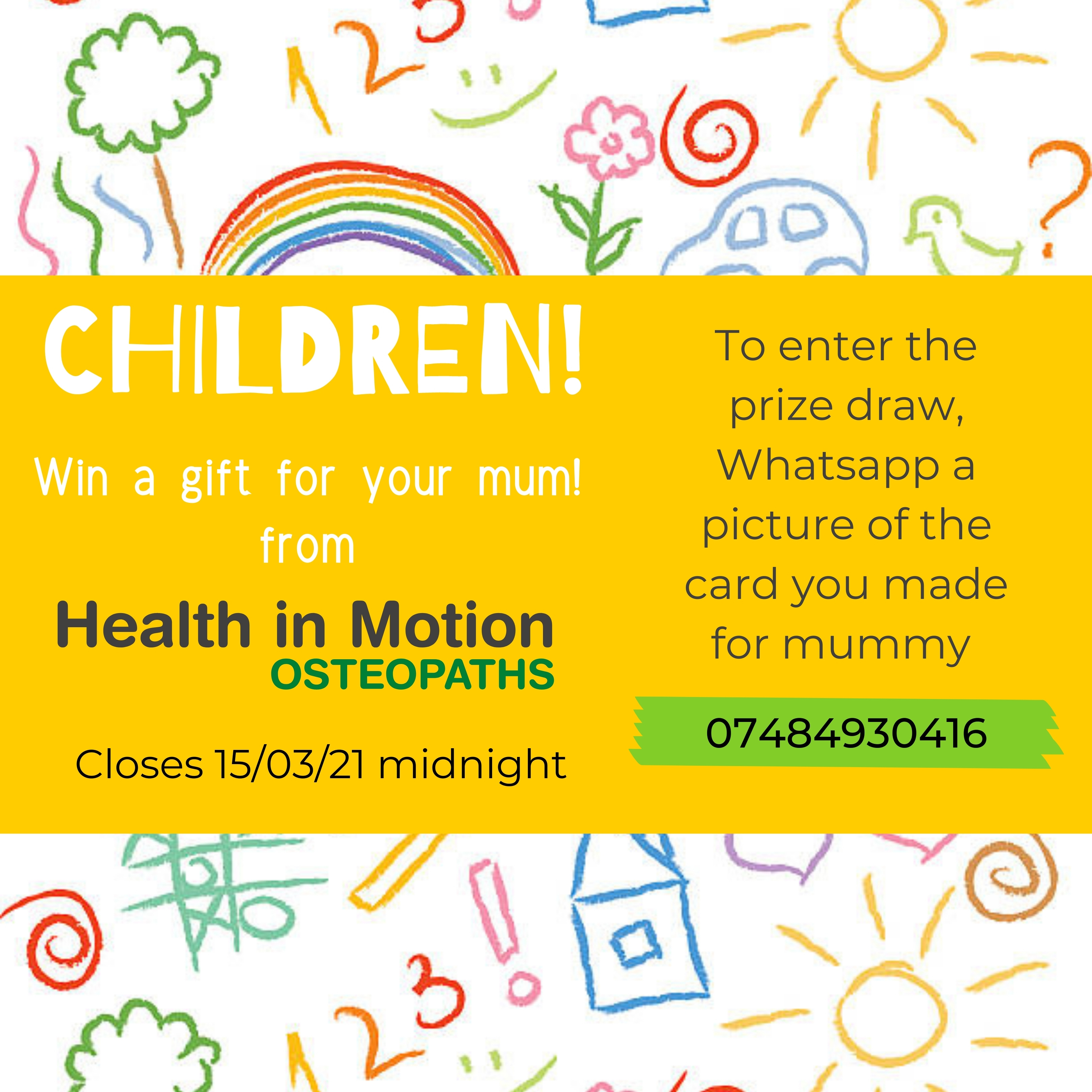 Mothers Day Health in Motion